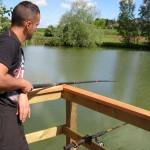Pêche sur l'étang